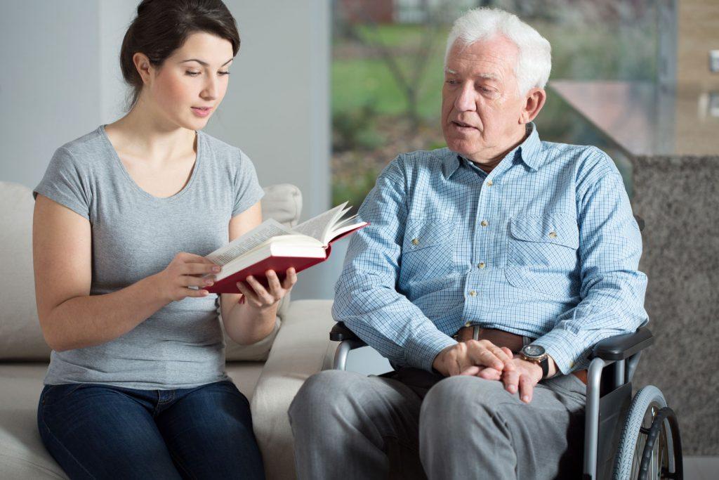 Cuidado de personas mayores en León